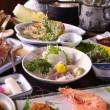 *お夕食一例/三河湾で水揚げされた鮮魚を活かした和懐石料理。旬の味覚をご堪能下さい。